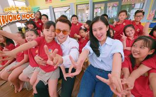 Khám Phá Trường Học 2021 | MC Hồng Loan và ca sĩ Hoàng Bách 'bật mí bí mật' trường Royal School
