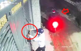 Video: Tên trộm táo tợn bẻ khóa vào nhà, ung dung dắt xe SH tẩu thoát