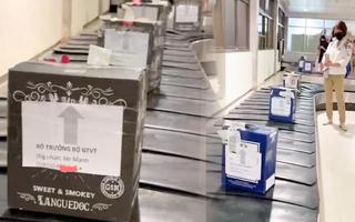 Video: Chấm dứt hợp đồng lao động người gửi hàng ghi  'Bộ trưởng Bộ GTVT'