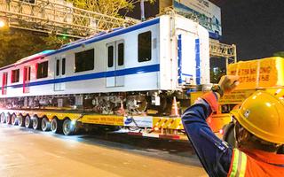 Video: Đoàn tàu số 3 metro số 1 TP.HCM đã lăn bánh đến depot Long Bình