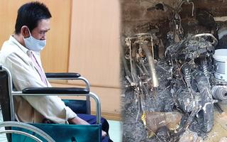 Video: Phóng hoả làm chết 3 người, người đàn ông ngồi xe lăn nhận án tử hình