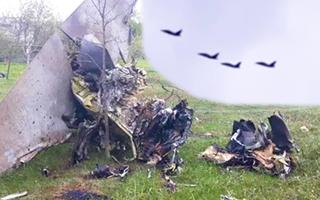 Video: Rơi máy bay chiến đấu ở Belarus, 2 phi công thiệt mạng