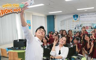 Khám Phá Trường Học 2021 | Gin Tuấn Kiệt cùng Tam Triều Dâng khám phá ĐH Nguyễn Tất Thành