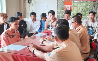 Video: Khởi tố 12 'quái xế' chặn quốc lộ 1 để đua xe trái phép ở Tiền Giang