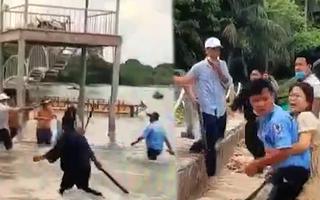 Video: 6 nhân viên bảo vệ xông xuống biển đuổi đánh gãy tay 2 du khách  tại khu nghỉ dưỡng ở Phú Quốc