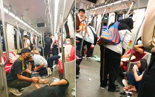 Video: 2 đoàn tàu metro đâm nhau, hơn 200 hành khách bị thương ở Malaysia