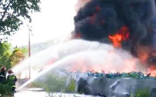 Video: Hàng ngàn chiếc xe đạp công cộng bị thiêu rụi trong chốc lát ở Trung Quốc