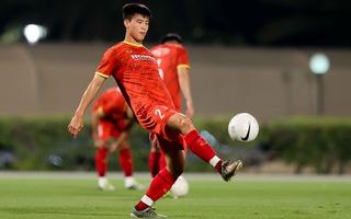 Video: Duy Mạnh, Đình Trọng, Minh Vương đã tập luyện chung cùng đội tuyển