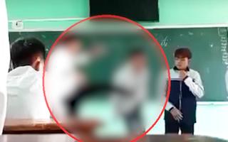 Video: Thầy giáo tát, đá học sinh bị chấm dứt hợp đồng lao động