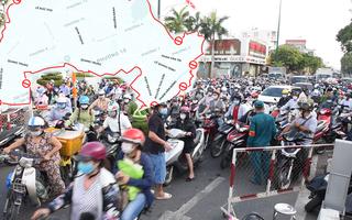 Video: Cả hai ngày phải xả chốt ở Gò Vấp, do tổ chức kiểm soát, khai báo y tế chưa khoa học?