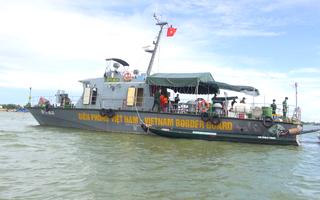 Video: Chi viện 2 tàu hiện đại để tuần tra nhập cảnh trái phép trên sông Tiền