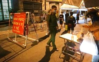Video: Phong tỏa toàn bộ chung cư Ehome 3 ở Bình Tân