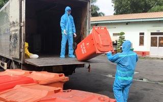 Video: Những công nhân vận chuyển rác thải y tế có nguy cơ chứa nCoV