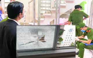 Video: Một căn nhà ở quận 1 nhiều lần bị bắn vỡ kính