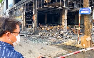 Cháy nhà ở Nghệ An 6 người chết: Gia đình chủ phòng trà 4 người và 2 mẹ con thuê trọ