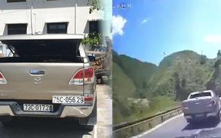 Video: Truy đuổi xe chở gỗ lậu như phim hơn 100km đường đèo