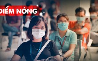 Điểm nóng: Thêm 227 ca nhiễm, Một bệnh viện có 5 ca dương tính; Ùn ứ tại chốt kiểm dịch