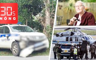 Bản tin 30s Nóng: Cụ ông 42 lần nhiễm Covid-19; Xe cảnh sát tông nữ sinh; Trực thăng tổng thống trúng đạn