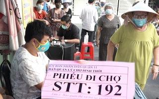 Video: Áp dụng phiếu đi chợ ở TP.HCM để phòng chống dịch