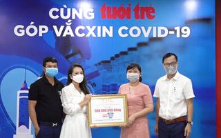 Video: Công ty Star Hằng Lê ủng hộ 500 triệu đồng 'Cùng Tuổi Trẻ góp vắc xin COVID-19'