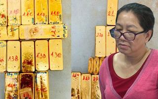 Video:Trùm buôn lậu 51kg vàng Nguyễn Thị Kim Hạnh bị bắt