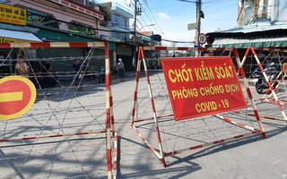 Video: Tạm phong tỏa khu phố 8 phường Hiệp Bình Chánh trong 3 ngày để phòng dịch