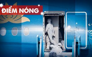 Điểm nóng: Cả nước thêm 1945 ca nhiễm; Riêng TP.HCM 1397 ca; Test nhanh Covid ở sân bay Tân Sơn Nhất