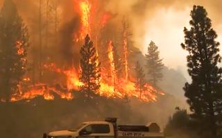Video: Nắng nóng hơn 54 độ C, cháy khắp nơi, bang California sơ tán khẩn cấp hàng ngàn người
