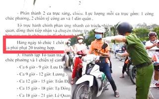 Video: Ra văn bản ghi chỉ tiêu xử phạt vi phạm chỉ thị 16, ủy ban phường ở Gò Vấp giải thích gì?
