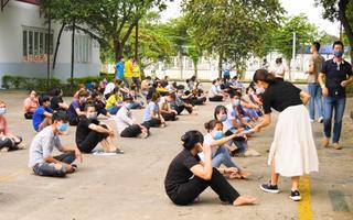 Video: Phát hiện ca dương tính đầu tiên ở khu công nghiệp Bắc Đồng Phú