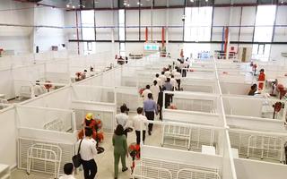 Video: Bình Dương thêm bệnh viện dã chiến 1.500 giường đưa vào hoạt động