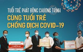 """Tuổi Trẻ phát động chương trình """"Cùng Tuổi Trẻ chống dịch COVID-19"""""""