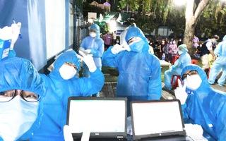 Video: Huy động 2.000 đội với hàng ngàn nhân sự lấy mẫu xét nghiệm COVID-19 tại TP.HCM