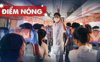 Điểm nóng: 527 ca COVID-19 mới trong nước; 500 người tự ý rời bệnh viện chưa gỡ phong tỏa