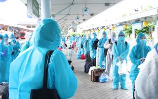 Video: Chuyến bay đầu tiên chở 192 người dân Bình Định ở TP.HCM về quê