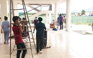 Video: Bệnh viện dã chiến 360 giường ở Đà Nẵng đi vào hoạt động