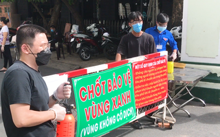 Video: 'Chốt xanh' xuất hiện ở TP.HCM, bảo vệ dân an toàn với dịch bệnh