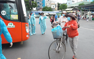 Video: Đưa 400 người lao động nghèo, sinh viên Phú Yên về quê miễn phí bằng xe khách