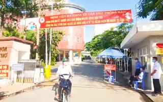 Video: 1 lãnh đạo và êkíp trực cấp cứu 7 người dương tính, phong tỏa một phần Bệnh viện Đa khoa TP Cần Thơ