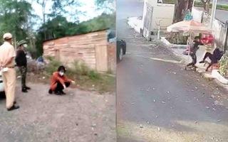 Video: Không bằng lái, dùng ma túy vẫn lái xe cứu thương chở người 'thông chốt' kiểm dịch