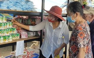 Video: Khai trương 7 gian hàng 0 đồng giúp bà con nghèo vượt qua đại dịch COVID-19