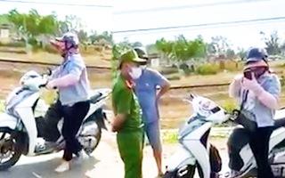 Video: Người phụ nữ gây rối, văng tục với công an ở Đà Nẵng
