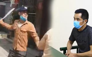 Video: Bắt người đàn ông dùng dao dọa chém CSGT