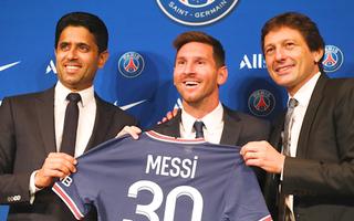 Video: 150.000 người đặt mua áo số 30 của tân binh Messi ngay khi đầu quân cho PSG
