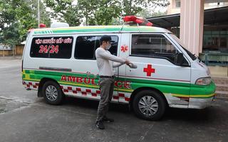Video: Xe cấp cứu 'ngụy trang' chở ma tuý ở Bình Phước
