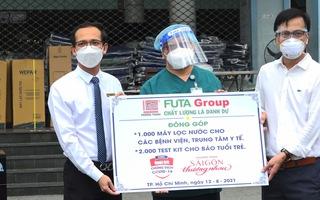 Nhiều hoạt động ý nghĩa của tập đoàn Phương Trang tiếp sức cho tuyến đầu chống dịch