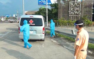 Video: Phát hiện, yêu cầu quay đầu 9 xe cứu thương chở người tử vong không rõ nguyên nhân