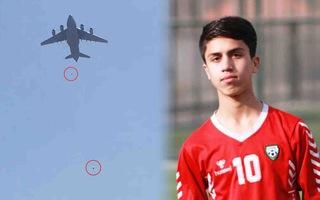 Video: Cầu thủ trẻ tử vong vì rơi từ máy bay khi tháo chạy khỏi Afghanistan