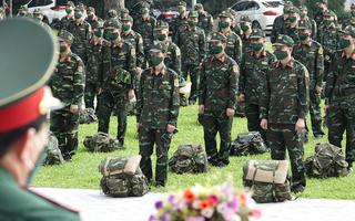 Video: Cục CSGT và Học viện Quân y xuất quân đi TP.HCM hỗ trợ chống dịch