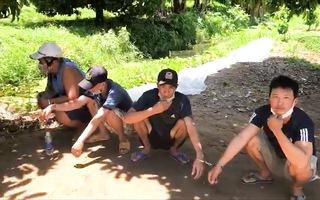 Video: Cảnh sát đột kích truy bắt nhóm đá gà trong khu mộ ở Vĩnh Long